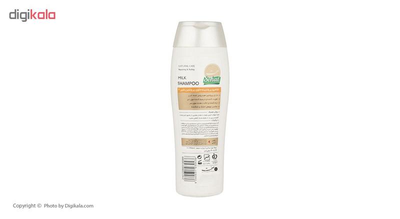 شامپو پروتئینه صحت مدل Milk Shampoo حجم 300 میلی لیتر