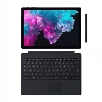 تبلت مایکروسافت مدل Surface Pro 6 - LQH به همراه کیبورد TYPE COVER و قلم