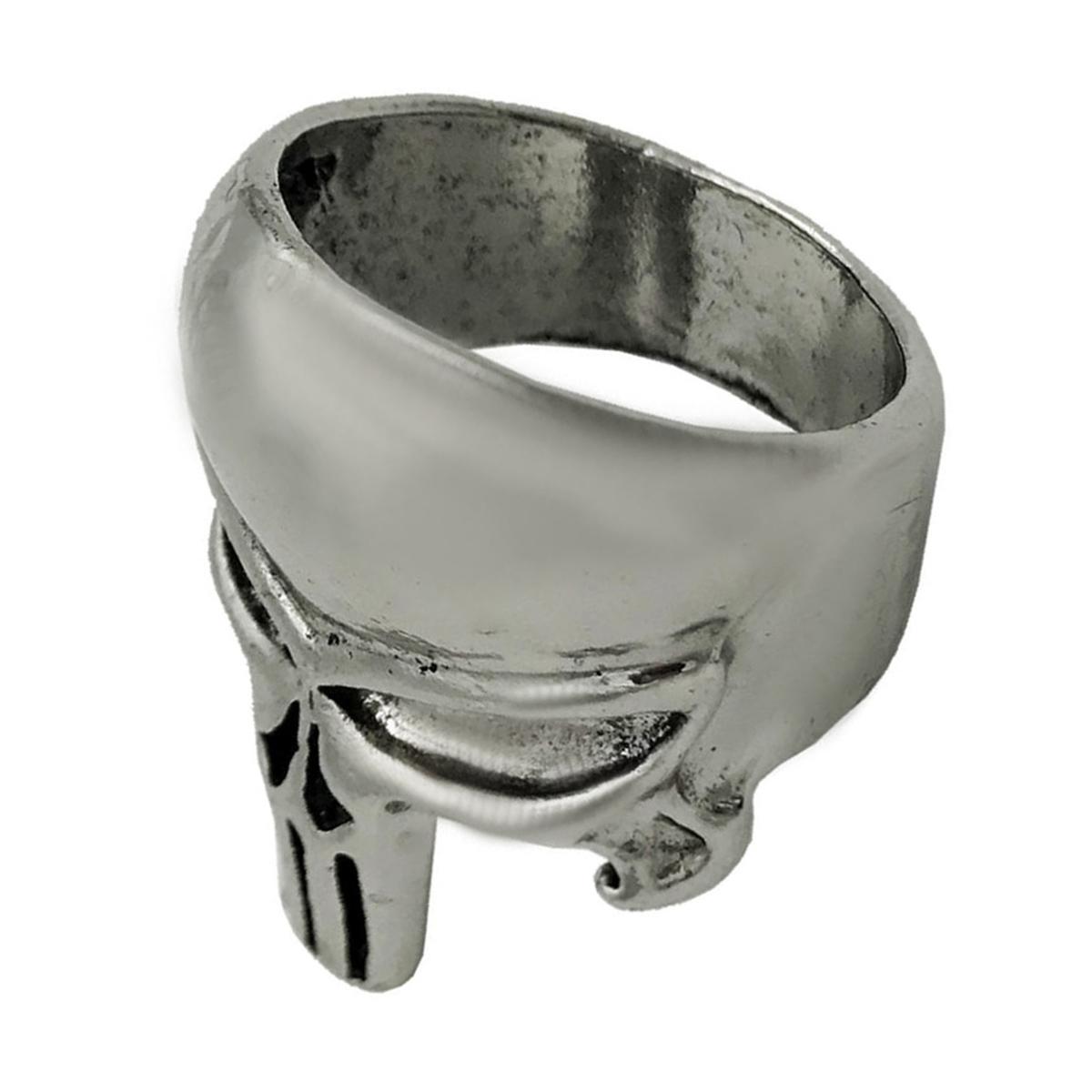 انگشتر مردانه طرح اسکلت مدل Punisher