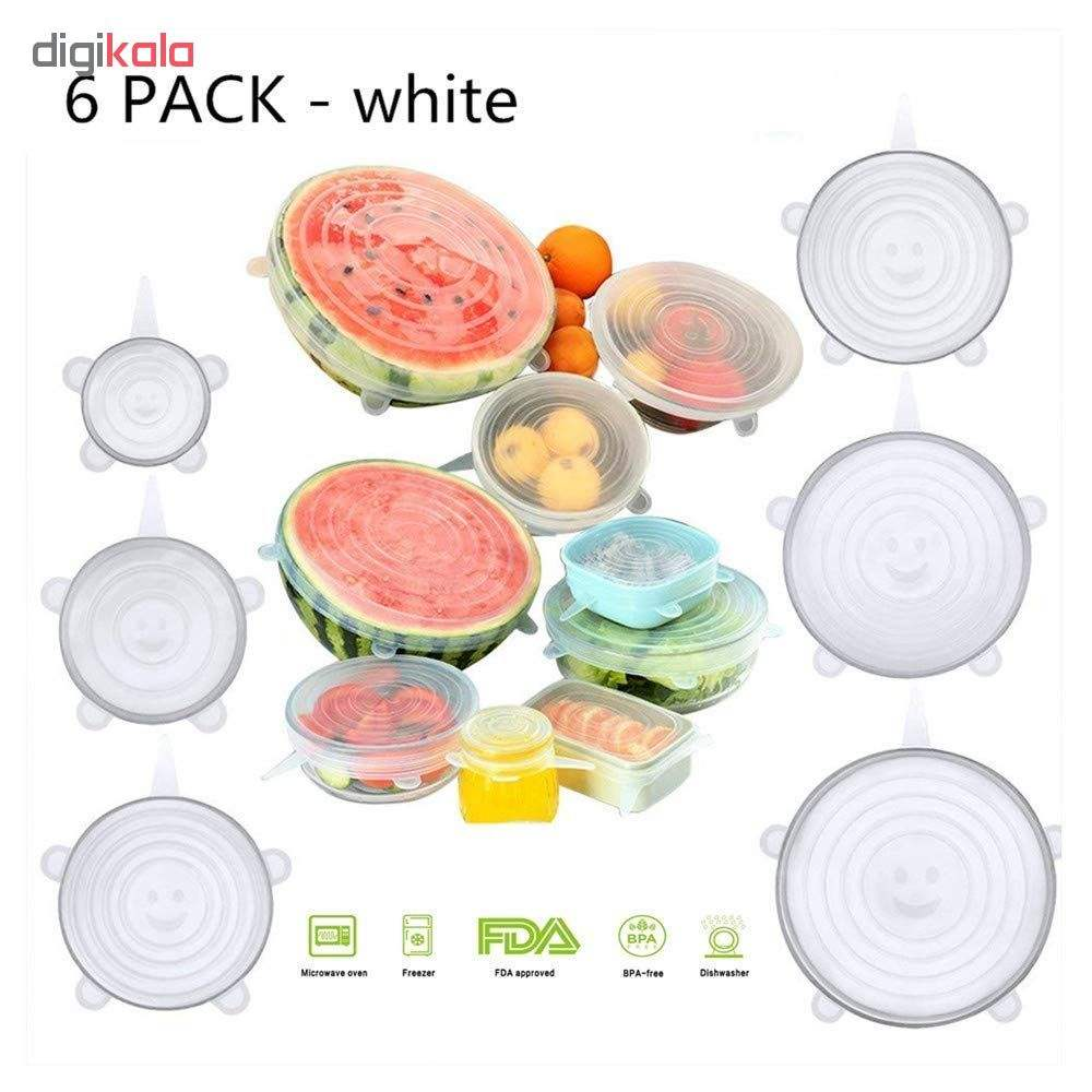 درپوش محافظ غذا مدل A11 بسته 6 عددی main 1 3