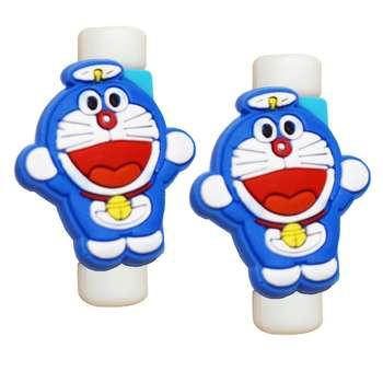 محافظ کابل طرح Doraemon کد 3308 بسته 2 عددی