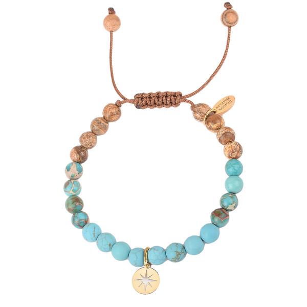 دستبند طلا 18 عیار زنانه درگون جولری مدل SBG20