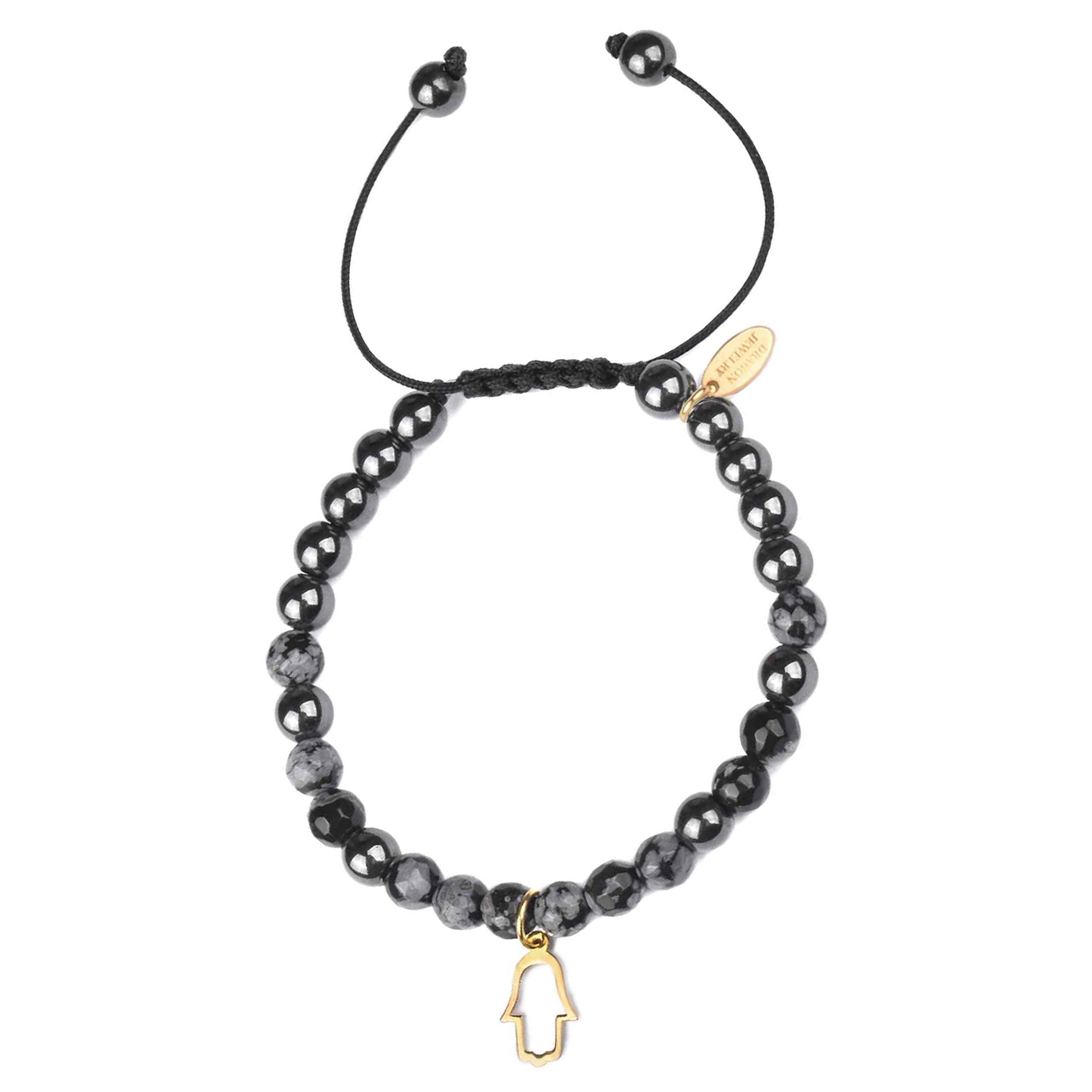 دستبند طلا 18 عیار زنانه درگون جولری مدل BG5