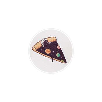 استیکر لپ تاپ ماسا دیزاین طرح پیتزا مدل STK241