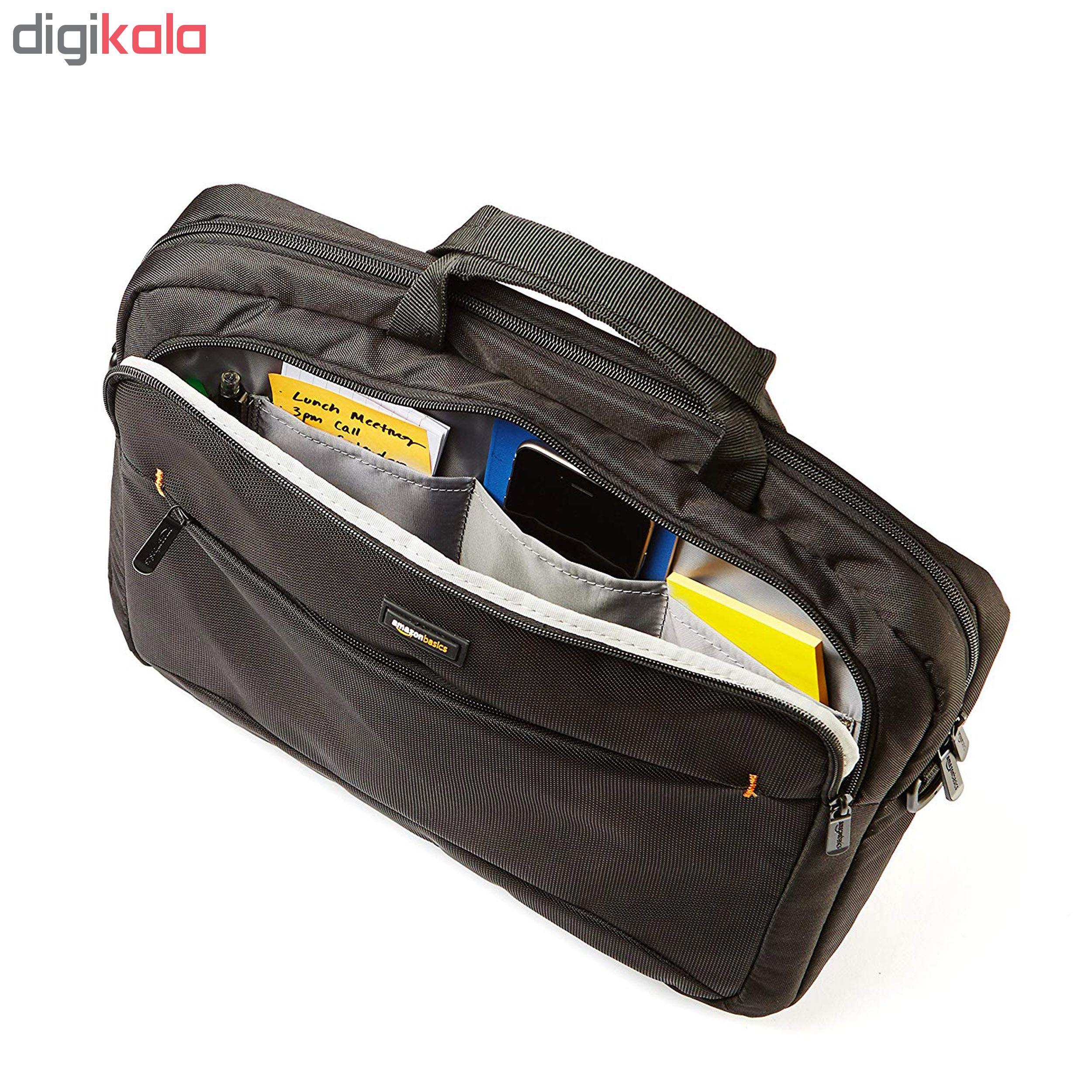 کیف لپ تاپ آمازون بیسیکس مدل NC1305224R1 مناسب برای لپ تاپ 15.6 اینچی