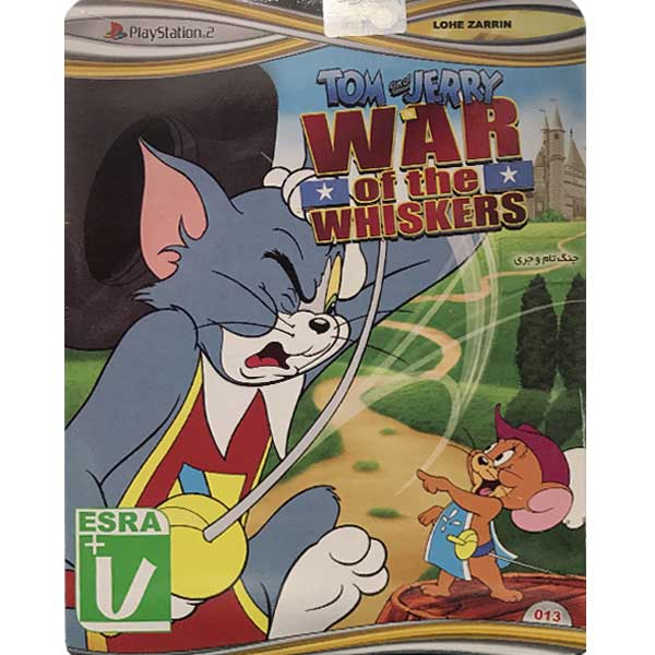 خرید اینترنتی بازی Tom & Jerry War Of The Whiskers مخصوص PS2 نشر لوح زرین اورجینال