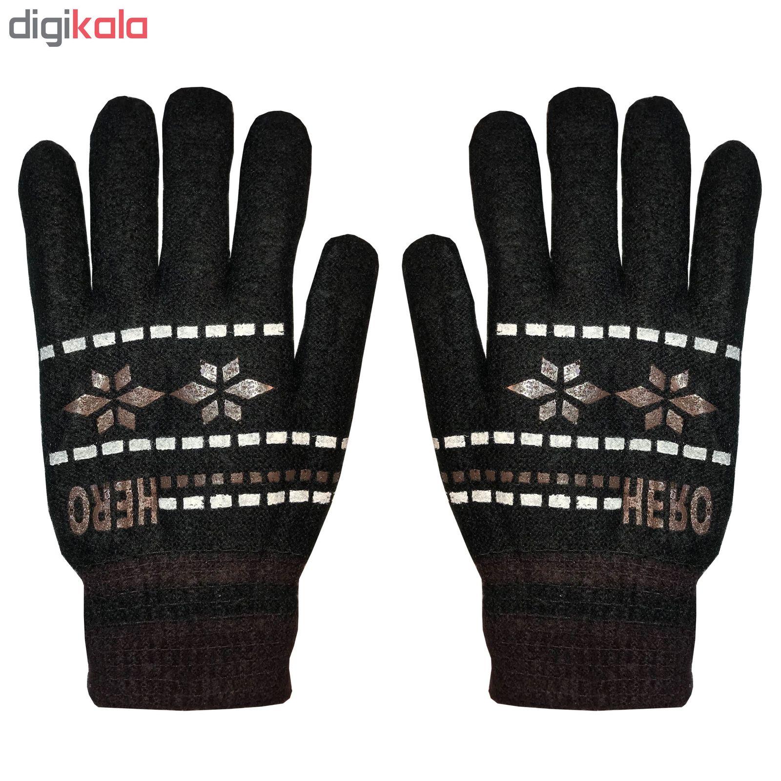 دستکش بافتنی مردانه مدل ۰۴ main 1 1