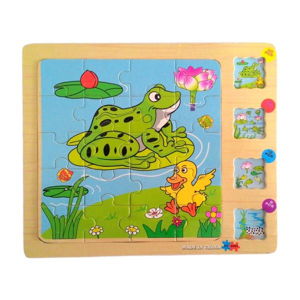 پازل 57 تکه مدل Frog