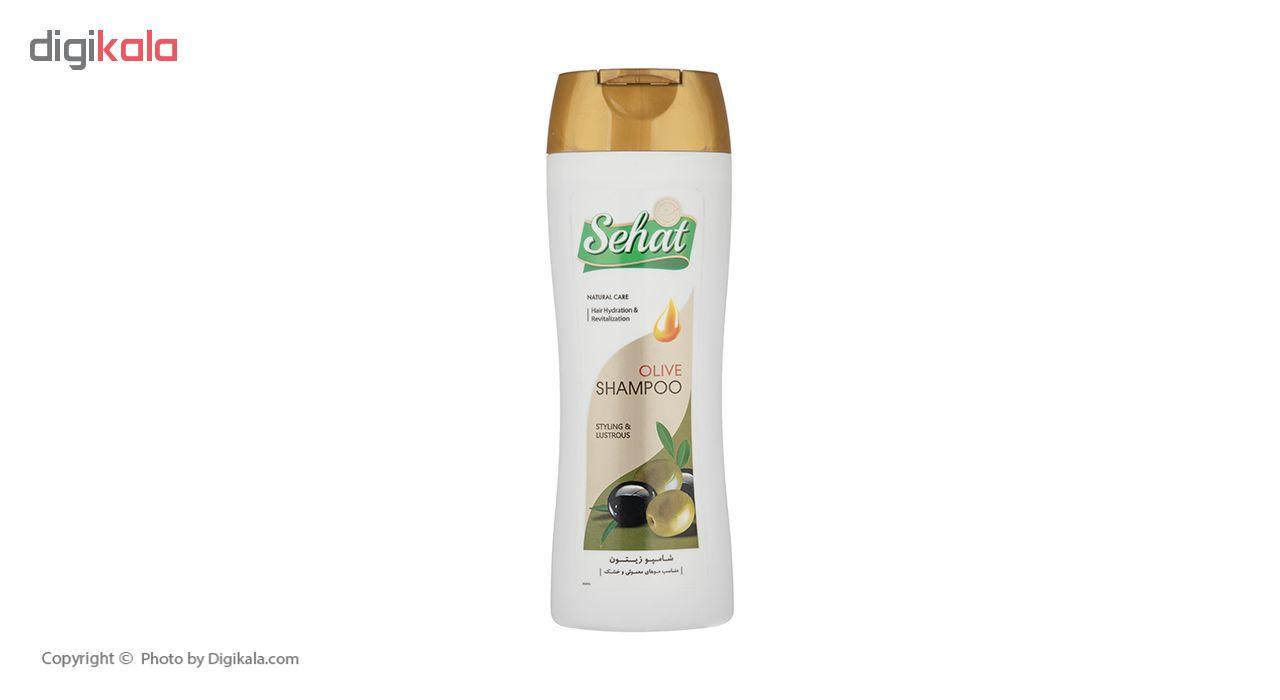 شامپو صحت مدل Olive حجم 300 میلی لیتر