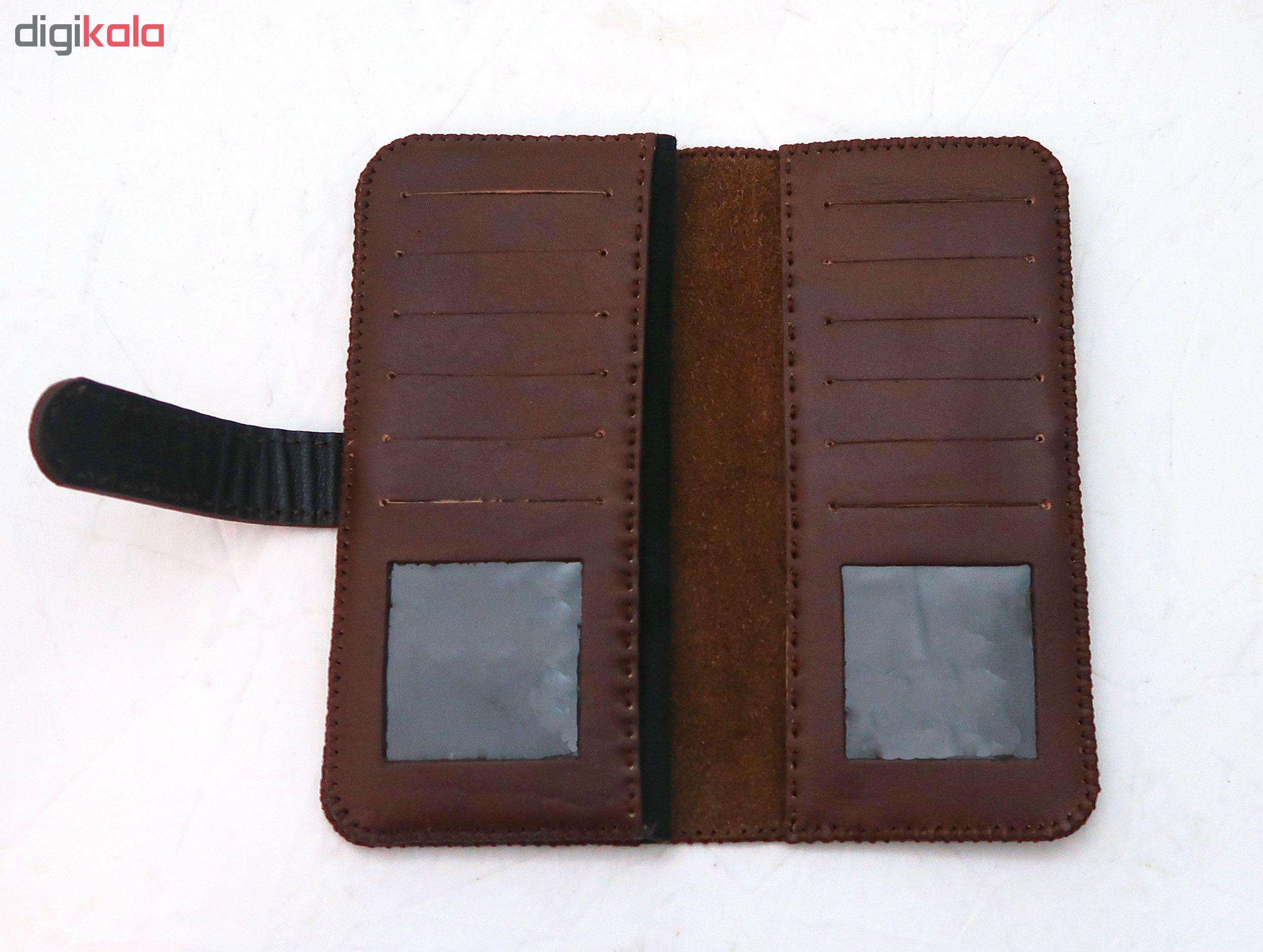 کیف پول چرمی مدل bik-wo-058