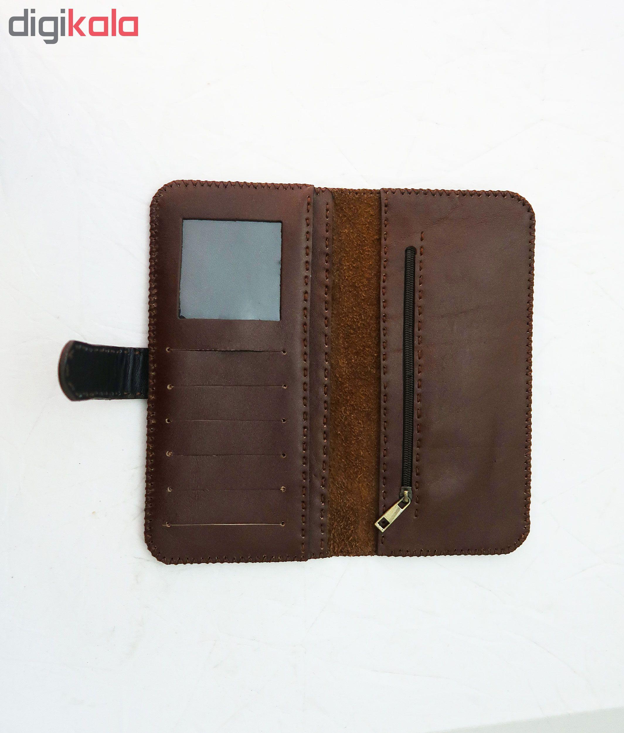 کیف پول چرمی مدل bik-wo-036
