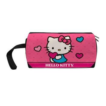 کیف لوازم آرایش زنانه طرح گربه کیتی کد j17
