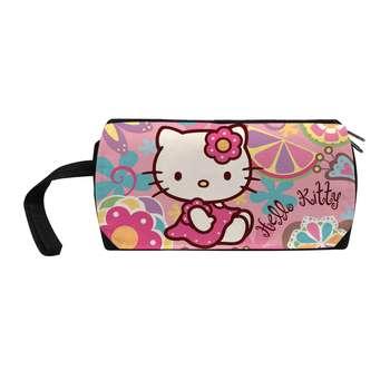 کیف لوازم آرایش زنانه طرح گربه کیتی کد j18