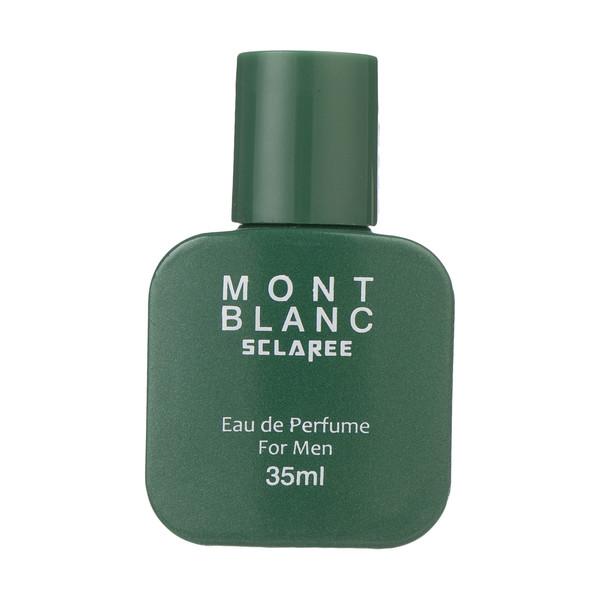 عطر جیبی مردانه اسکلاره مدل Mont Blank حجم 35 میلی لیتر