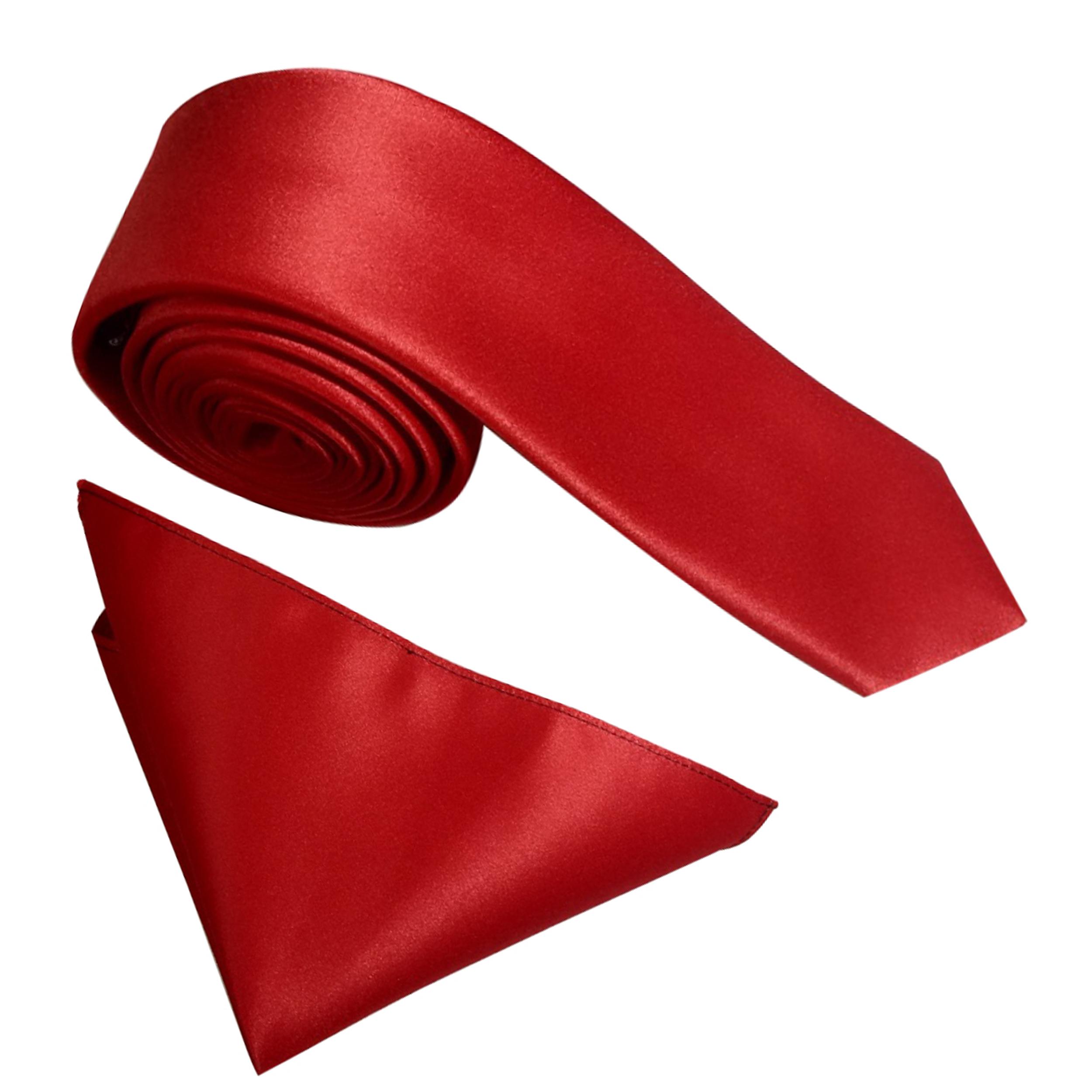 ست کراوات و دستمال جیب مردانه کد KS006