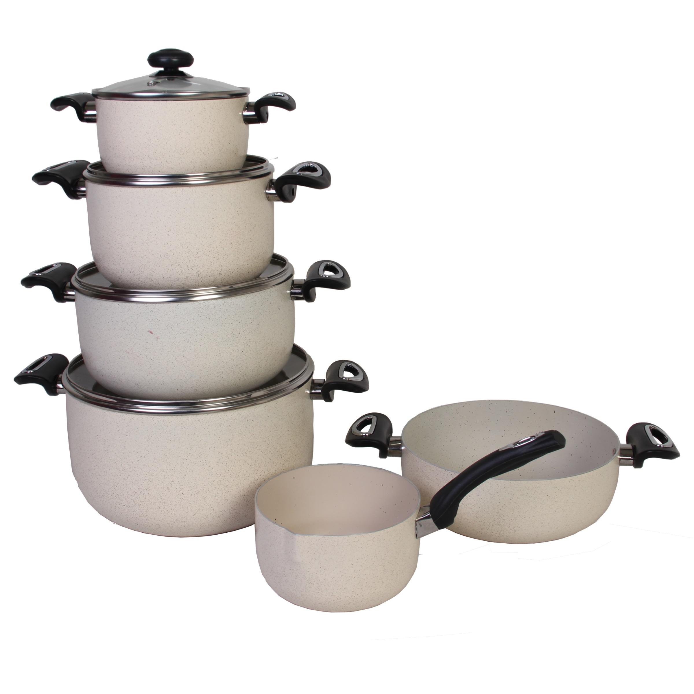 سرویس پخت و پز ۱۰ پارچه مدل دلسا B001