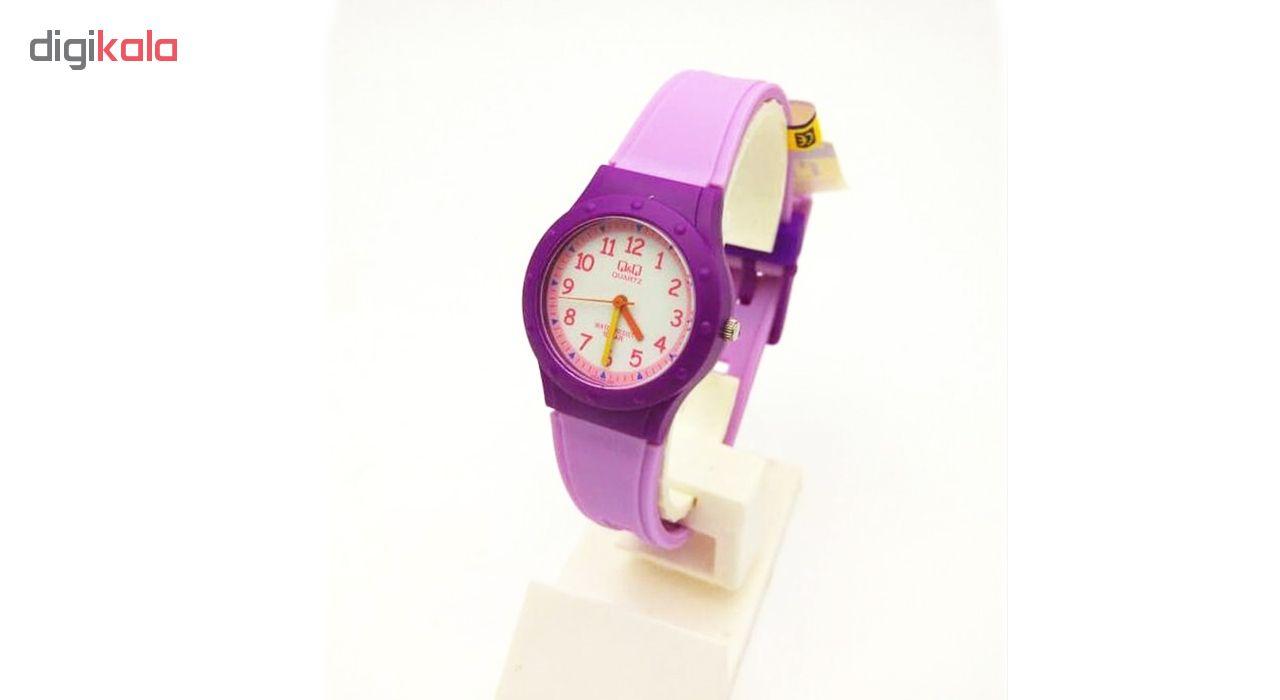 ساعت مچی عقربه ای زنانه کیو اند کیو مدل VR75j005Y              ارزان