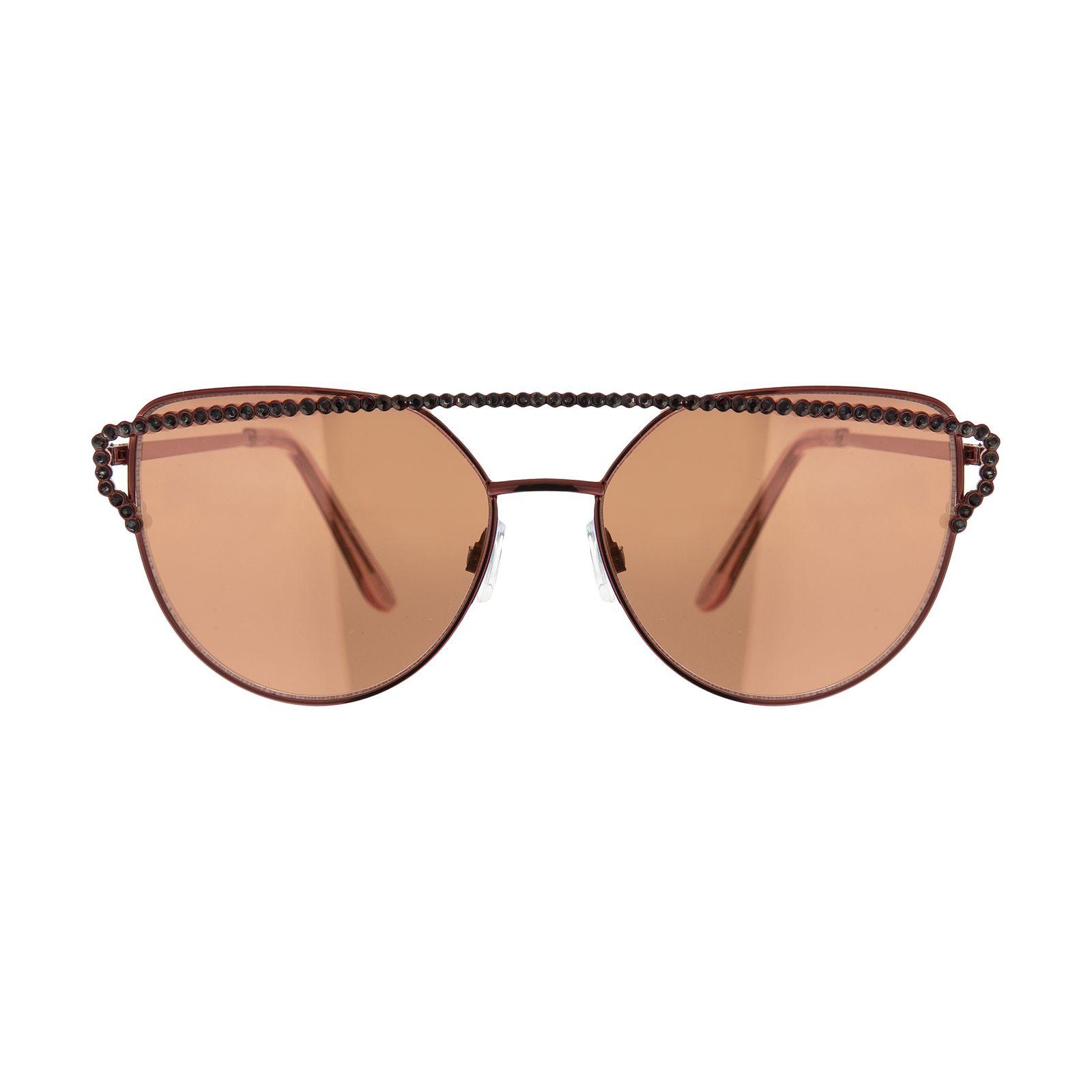 عینک آفتابی زنانه آلدو مدل 57211087 - نارنجی - 2
