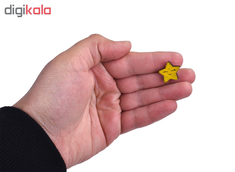 گوشواره زنانه طرح ستاره یونیکورن کد 12 main 1 2