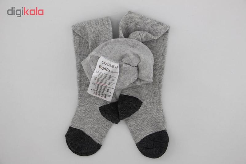 جوراب شلواری نوزاد لوپیلو کد 6501-2