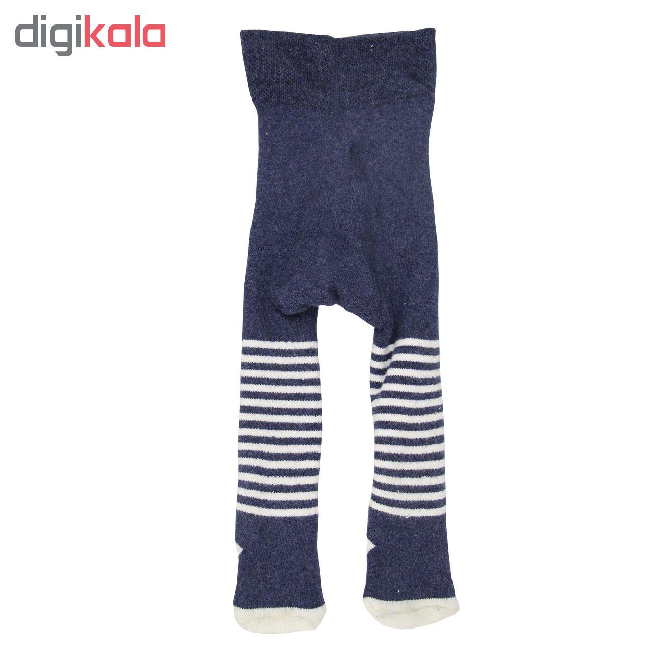 جوراب شلواری نوزاد لوپیلو کد 6506