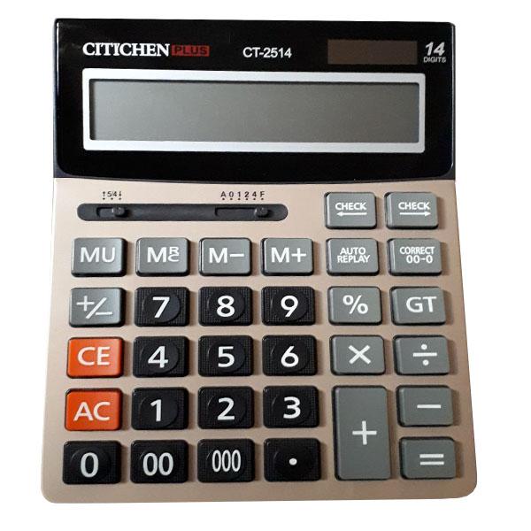 قیمت                      ماشین حساب سیتیزن مدل CT-2514