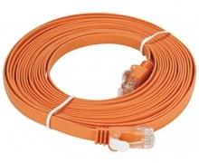 دی لینک پچ کورد CAT5E بدون شیلد Flat رنگ نارنجی NCB-5EUORGF1-5
