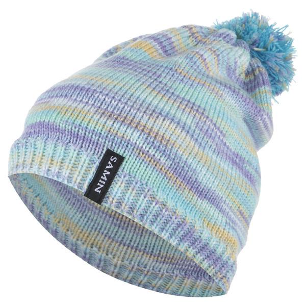 کلاه بافتنی ثمین مدل Cristin رنگ آبی