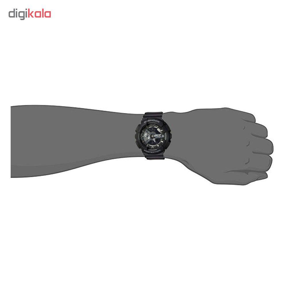 ساعت مچی دیجیتال مردانه کاسیو مدل جی شاک مدل GA-110-1B