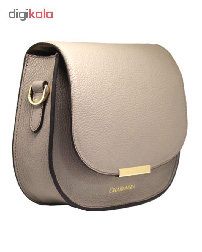 کیف دوشی زنانه چرم آرا کد 2 d060
