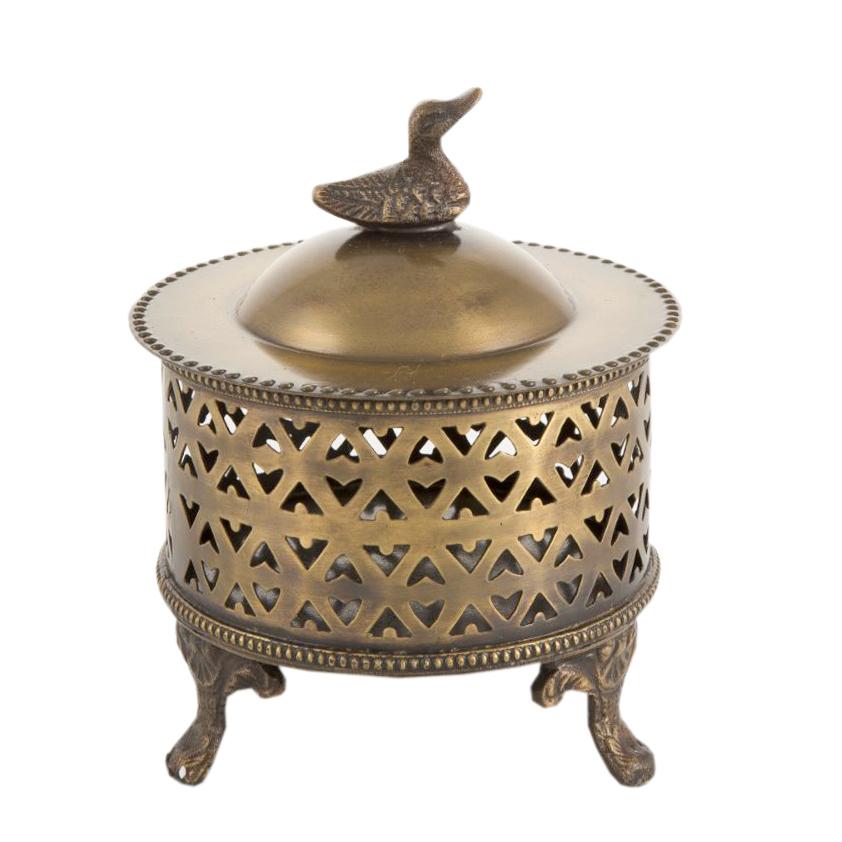 شکلات خوری برنجی کد 1354