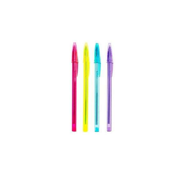 خودکار بیک مدل Cristal Soft and Fashion - بسته 4 عددی