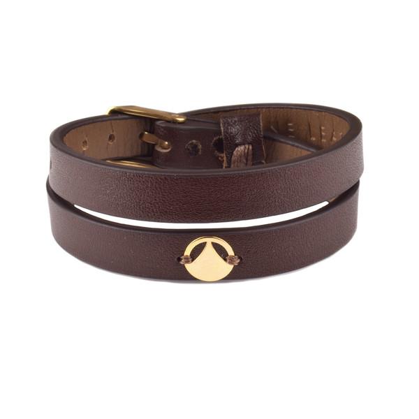 دستبند طلا 18عیار زنانه درگون جولری مدل SLT20