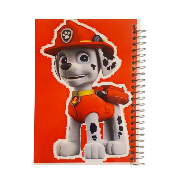 دفتر یادداشت آف تاب شهر طرح سگ های نگهبان مدل مارشال کد 3105