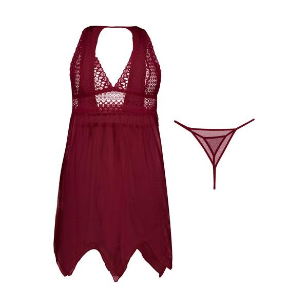 پیراهن خواب زنانه کد 3058-1