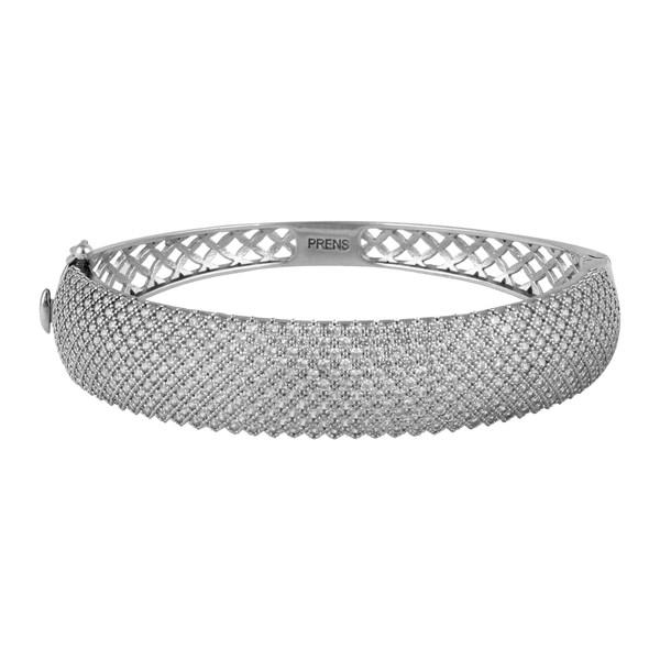 دستبند نقره زنانه مد و کلاس کد 1000509