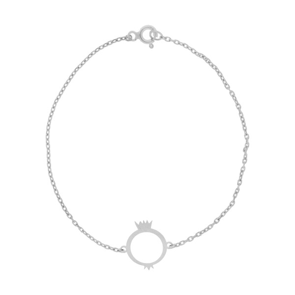 دستبند نقره زنانه نیوانی مدل DA106