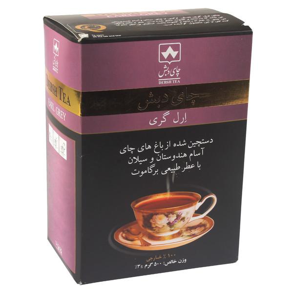 چای ارل گری دبش مقدار ۵۰۰ گرم