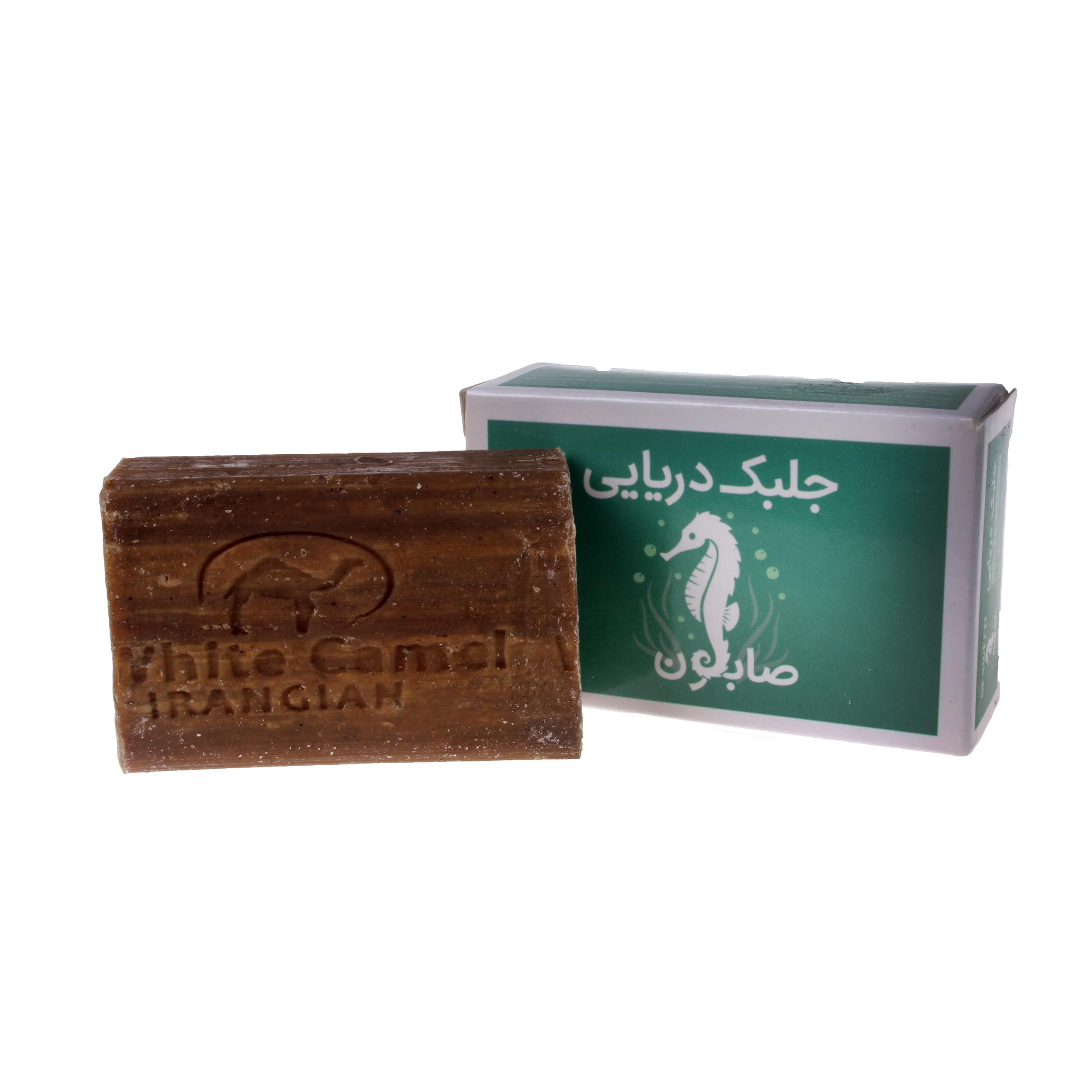 صابون شستشو ایران گیاه مدل جلبک وزن 100 گرم