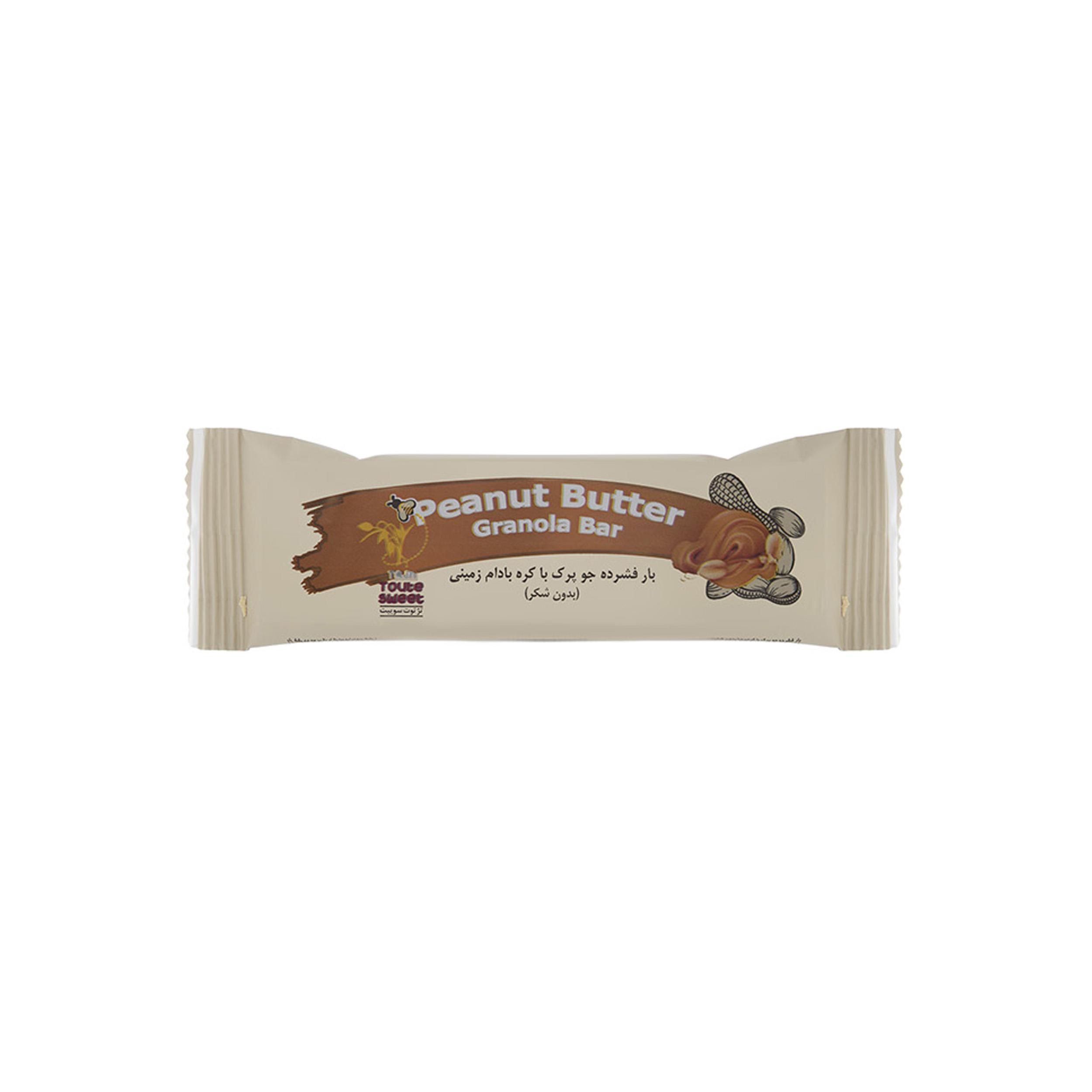 گرانولا بار تژ توت سوییت با کره بادام زمینی مقدار 35 گرم