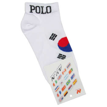 جوراب طرح پرچم کره جنوبی کد C01