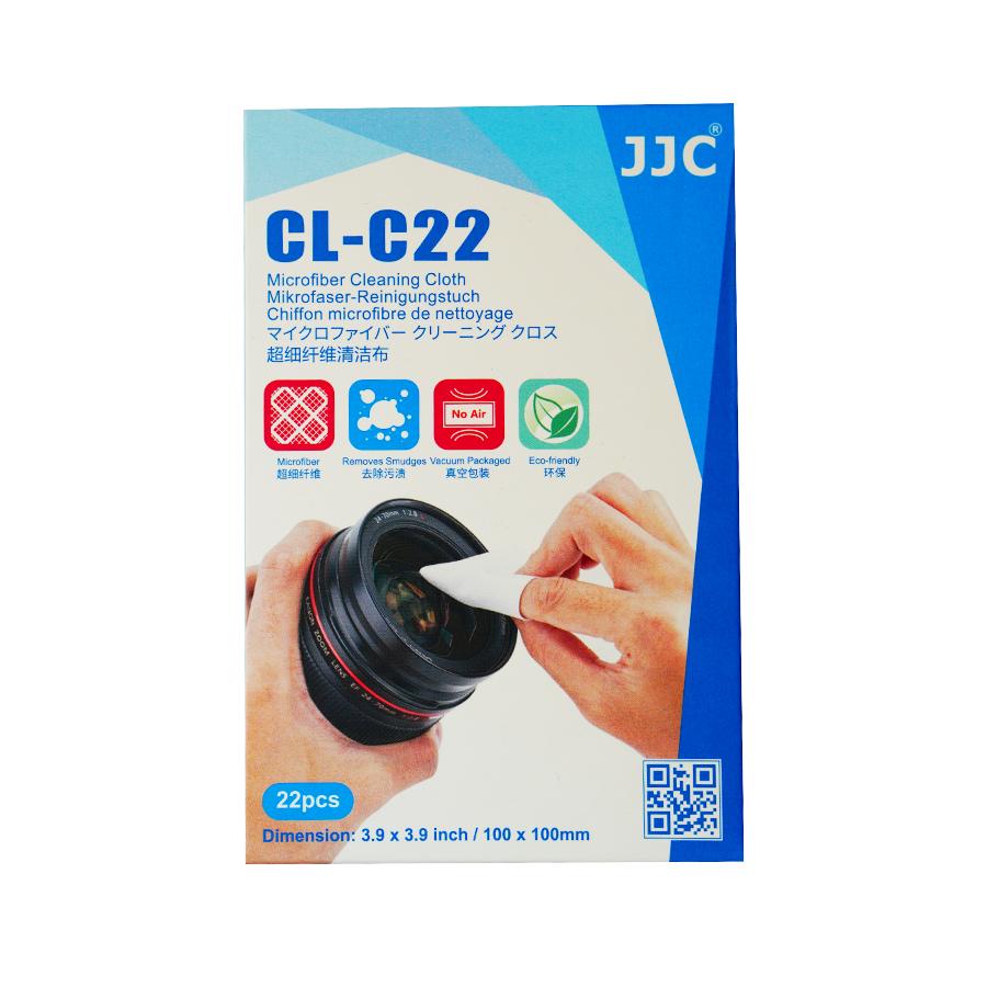 دستمال تمیز کننده لنز دوربین جی جی سی مدل CL-C22 بسته 22 عددی