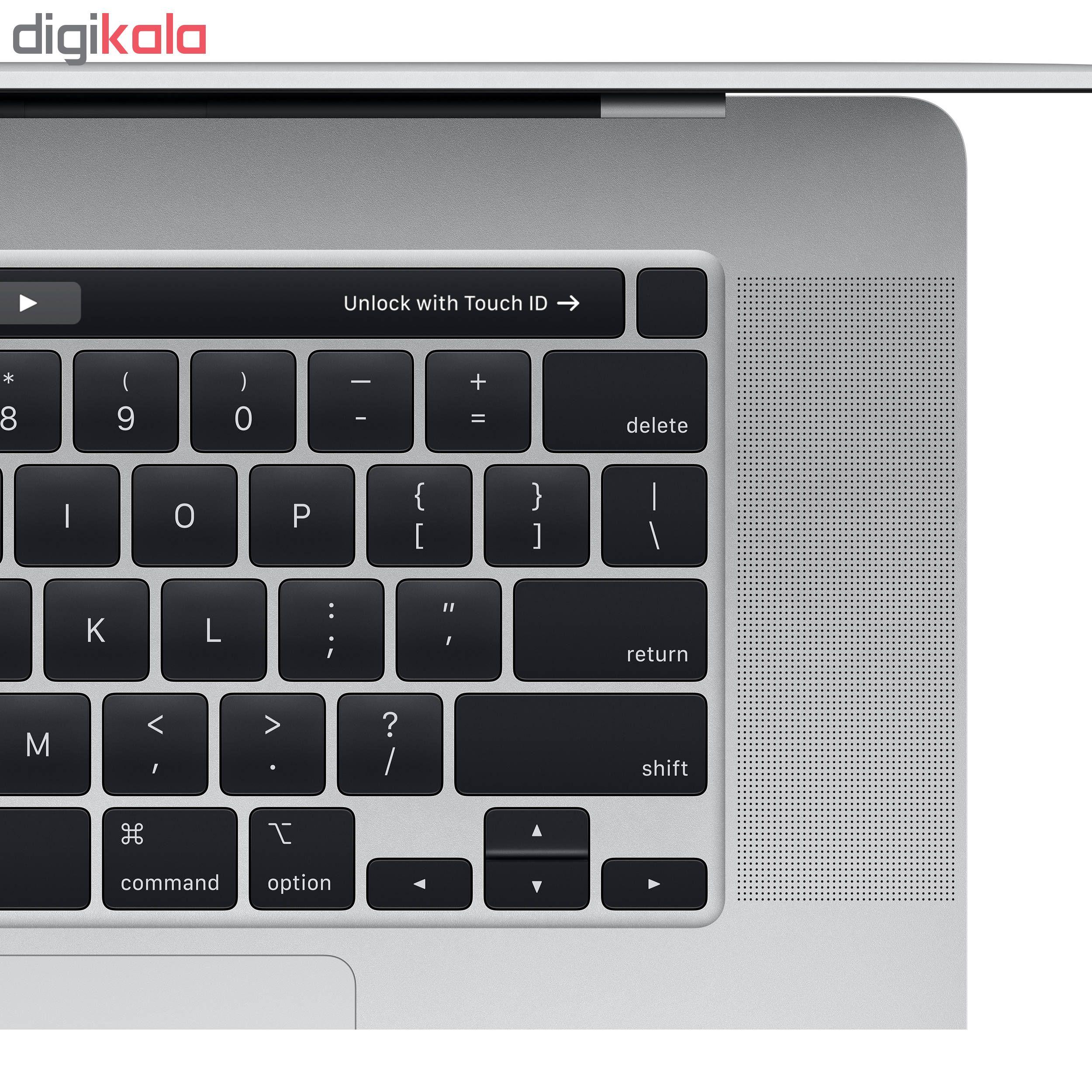 لپ تاپ 16 اینچی اپل مدل MacBook Pro MVVL2 2019 همراه با تاچ بار main 1 4