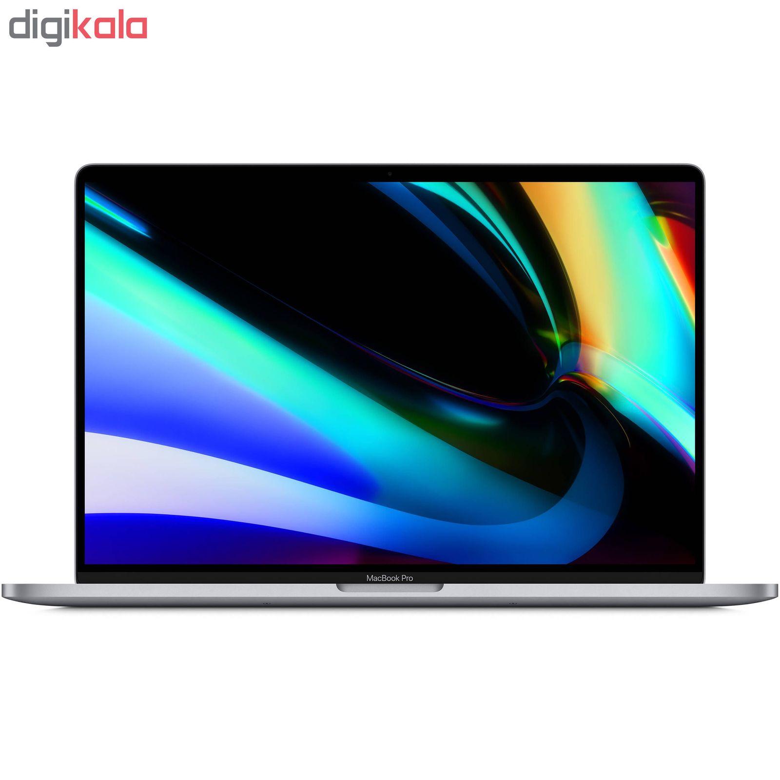 لپ تاپ 16 اینچی اپل مدل MacBook Pro MVVK2 2019 همراه با تاچ بار main 1 2