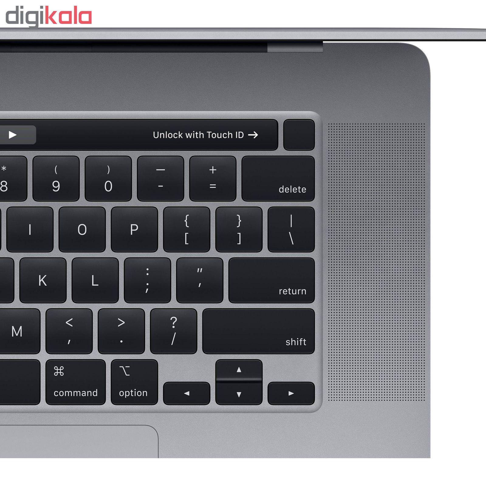لپ تاپ 16 اینچی اپل مدل MacBook Pro MVVK2 2019 همراه با تاچ بار main 1 4