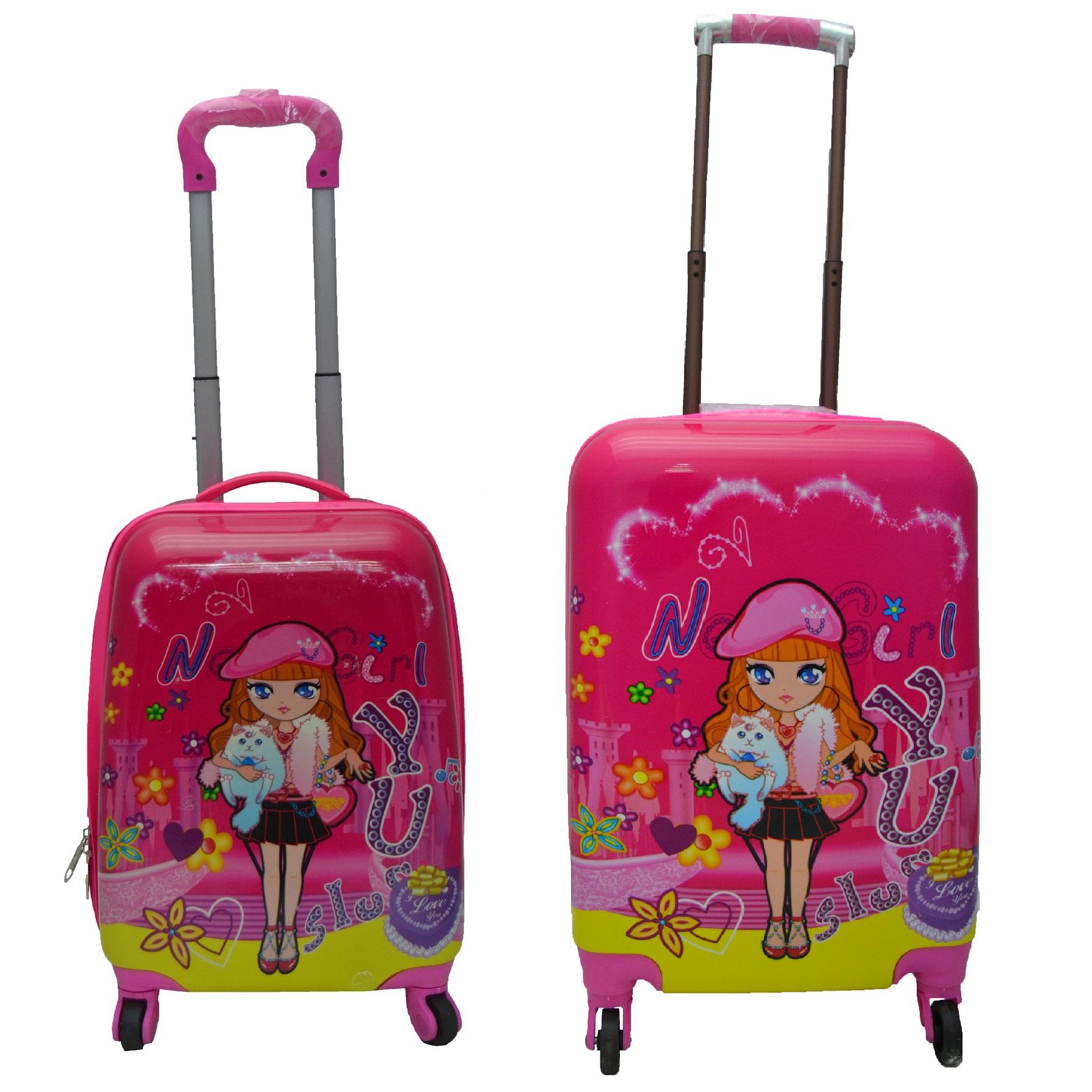 چمدان کودک مدل tinysoo مجموعه دو عددی