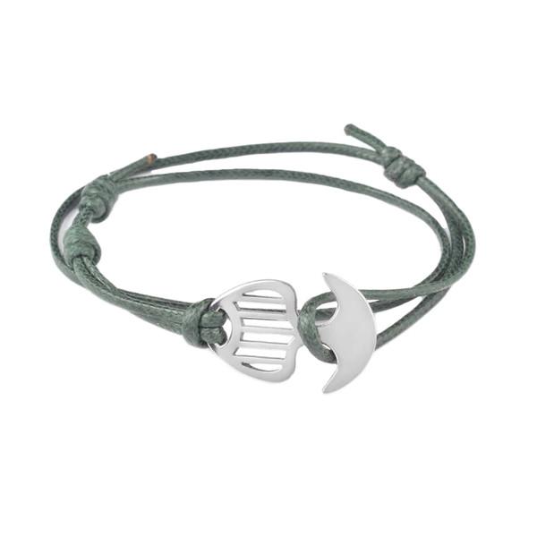 دستبند مردانه درگون جولری مدل A3