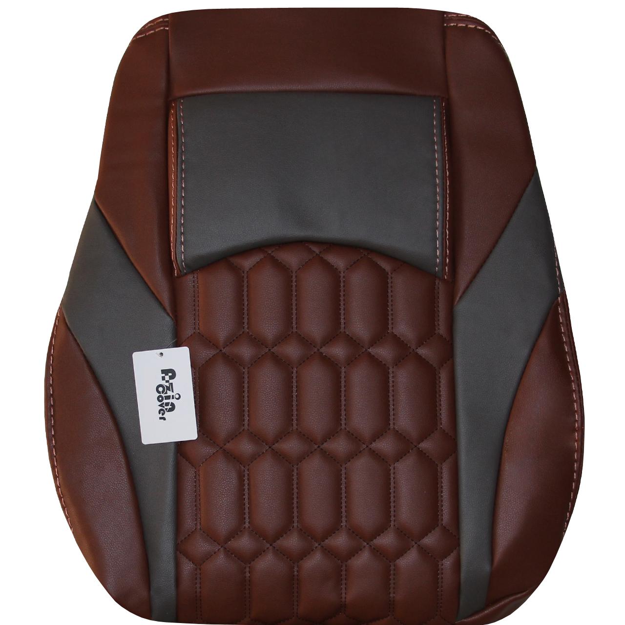 روکش صندلی خودرو آذین کاور کد AZ079 مناسب برای سمند