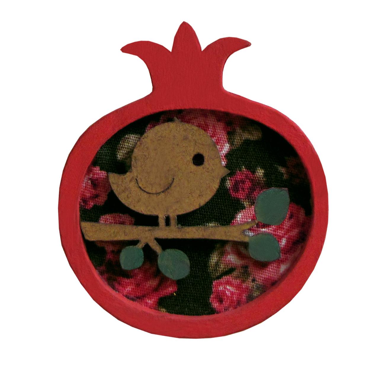 گل سینه دخترانه مدل یلدا کد 001