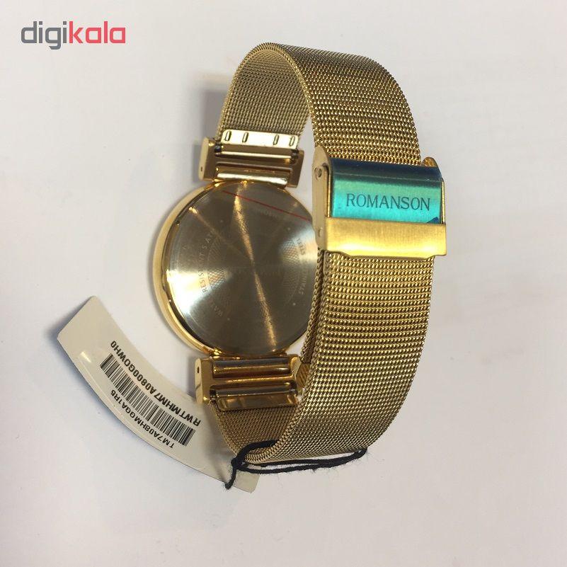 کد تخفیف                                      ساعت مچی عقربه ای مردانه رومانسون مدل TM7A08HMGGA1R5